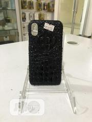 Leather iPhone X Phone Case(Black) (Brown) | Accessories for Mobile Phones & Tablets for sale in Lagos State, Lekki Phase 1