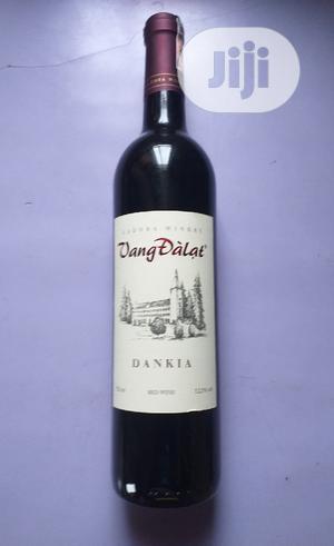 Vang Dalat Dankia Red Wine 750ml X6 Bottles | Meals & Drinks for sale in Lagos State, Amuwo-Odofin
