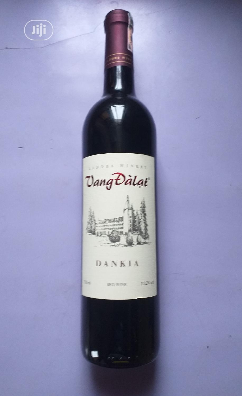 Vang Dalat Dankia Red Wine 750ml X6 Bottles
