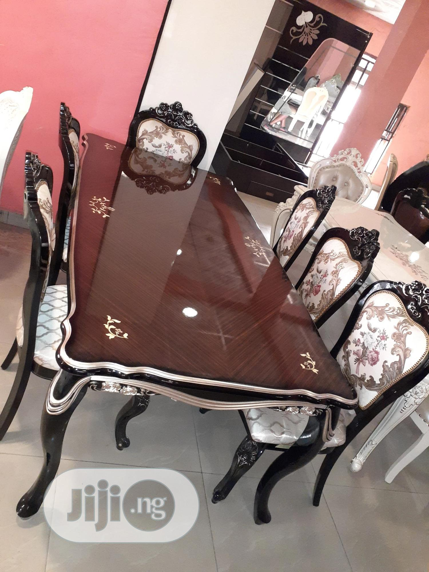 8seater Royal Dining Table | Furniture for sale in Ojo, Lagos State, Nigeria