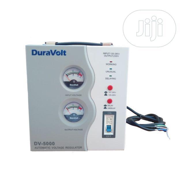 Archive: Duravolt DV 5000va (5kva) Relay Automatic Voltage Stabilizer