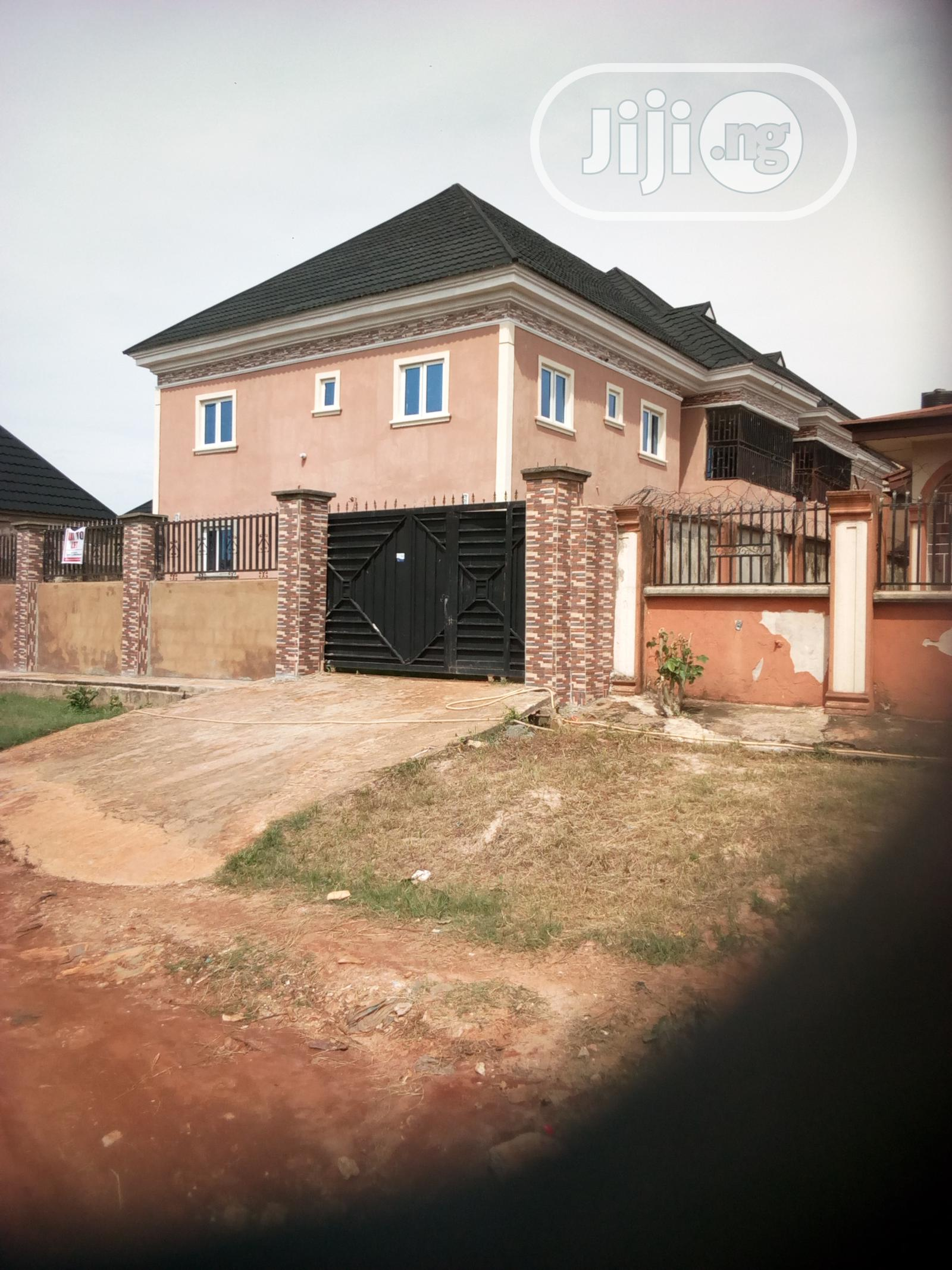 Archive: A Four Flat For Rent At Ekhaguare Street, Off Oko Central, G.R.A