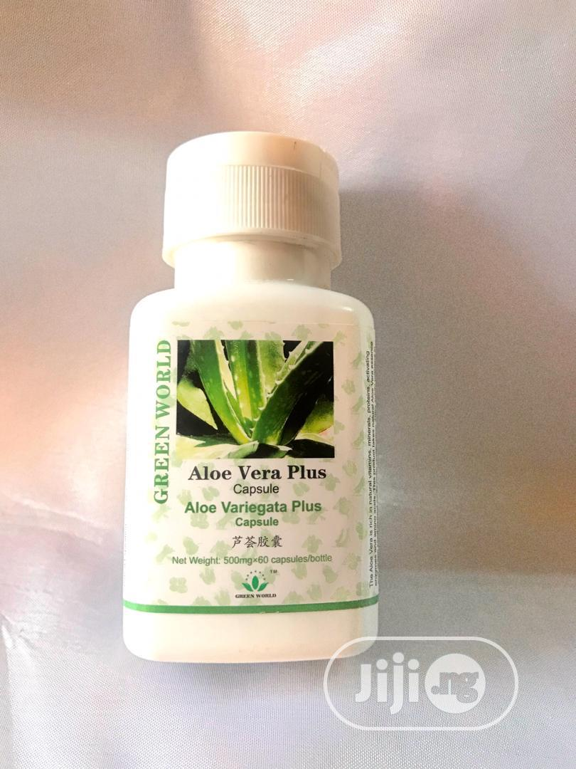 Green World Aloe Vera.