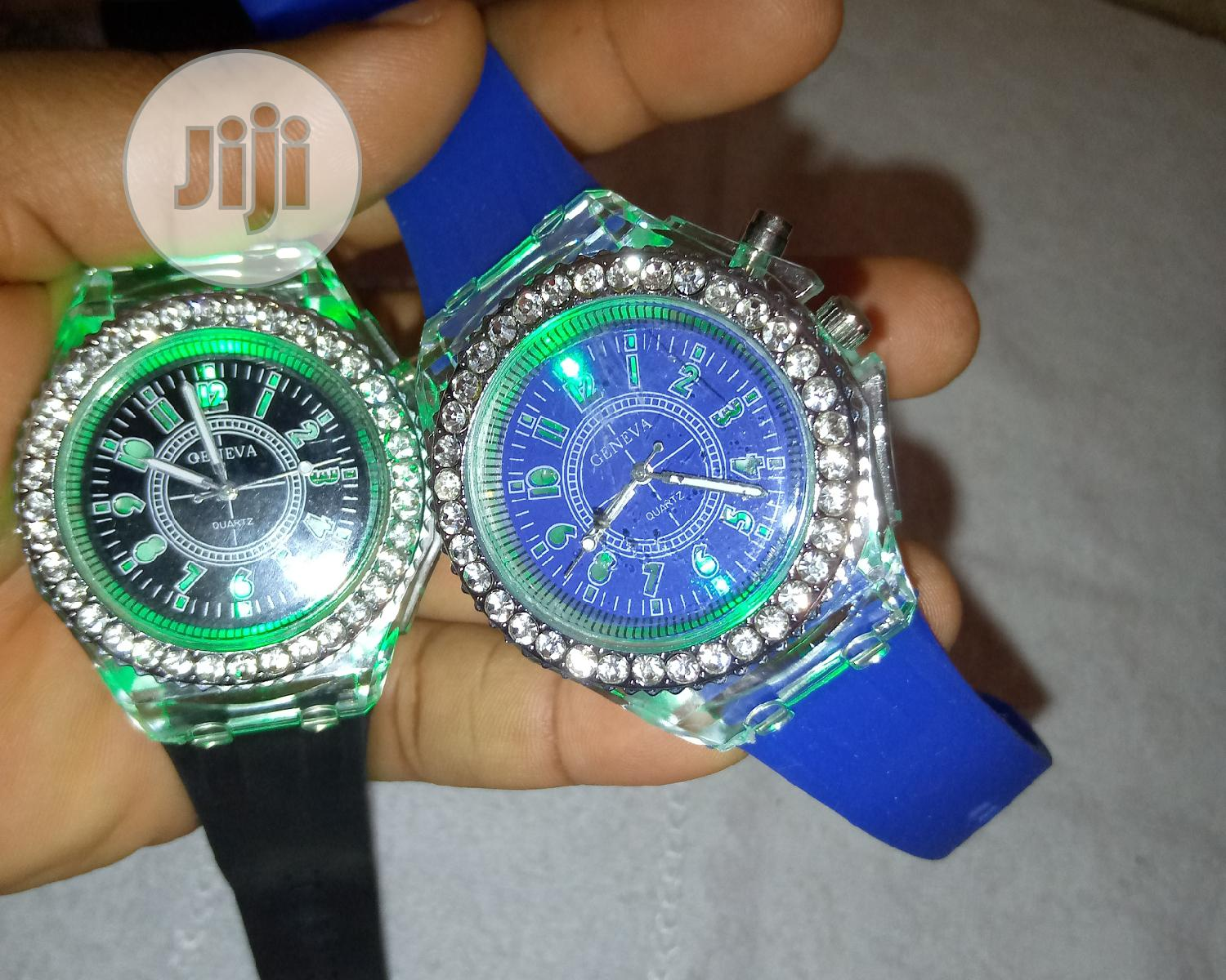 Geneva Luminious Watch | Watches for sale in Isolo, Lagos State, Nigeria