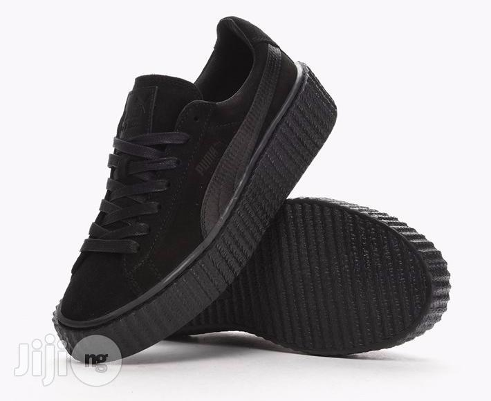 Archive: Black Rihanna Puma Low Rise Sneakers