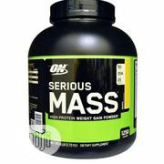Optimum Nutrition Serious Mass 6lbs Vanilla | Vitamins & Supplements for sale in Lagos State, Magodo