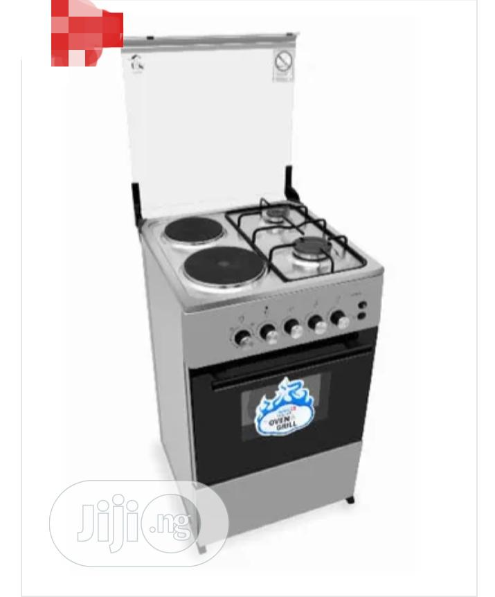 Scanfrost 2 Burner Gas Cooker, 2 Hotplate And Oven