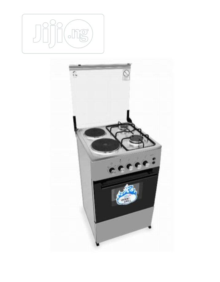 Scanfrost 2 Burner Gas Cooker, 2 Hotplate And Oven | Kitchen Appliances for sale in Wuse 2, Abuja (FCT) State, Nigeria