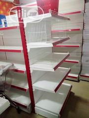 Supermarket Shelve Single While Double Is 75k | Store Equipment for sale in Lagos State, Ojo