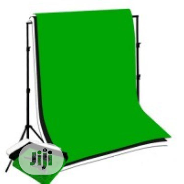 Mobile Studio Background (With Cloth Or Paper)