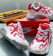 "Nike Air Max 200 ""White and Red Bomb 