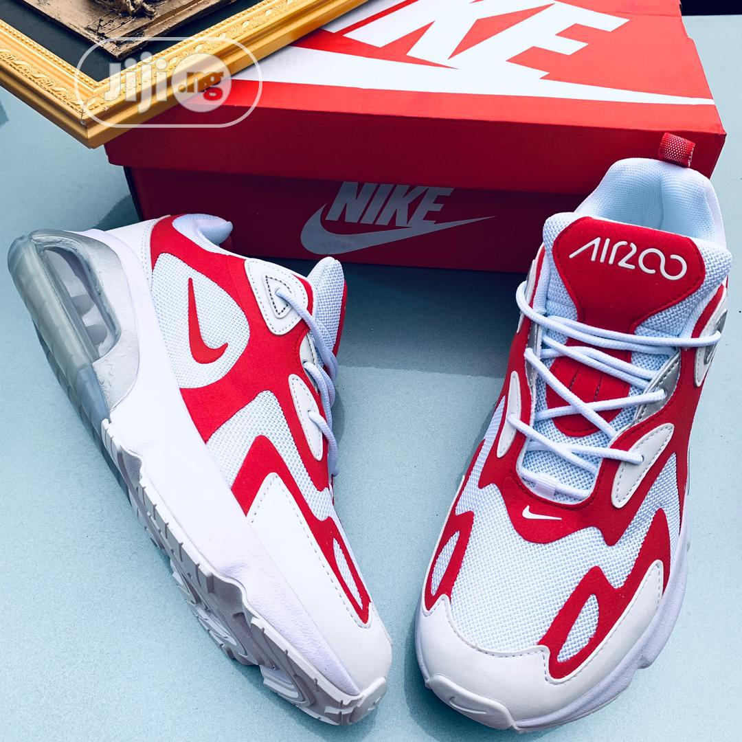 """Nike Air Max 200 """"White and Red Bomb 