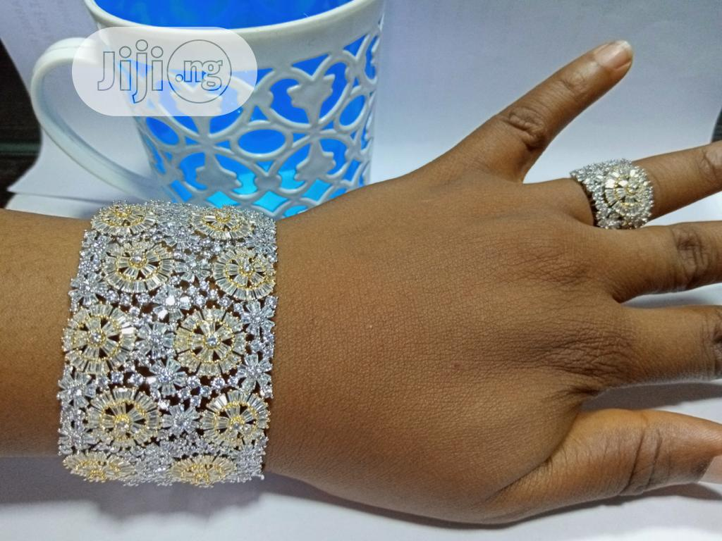 Wrist Bangle And Ring