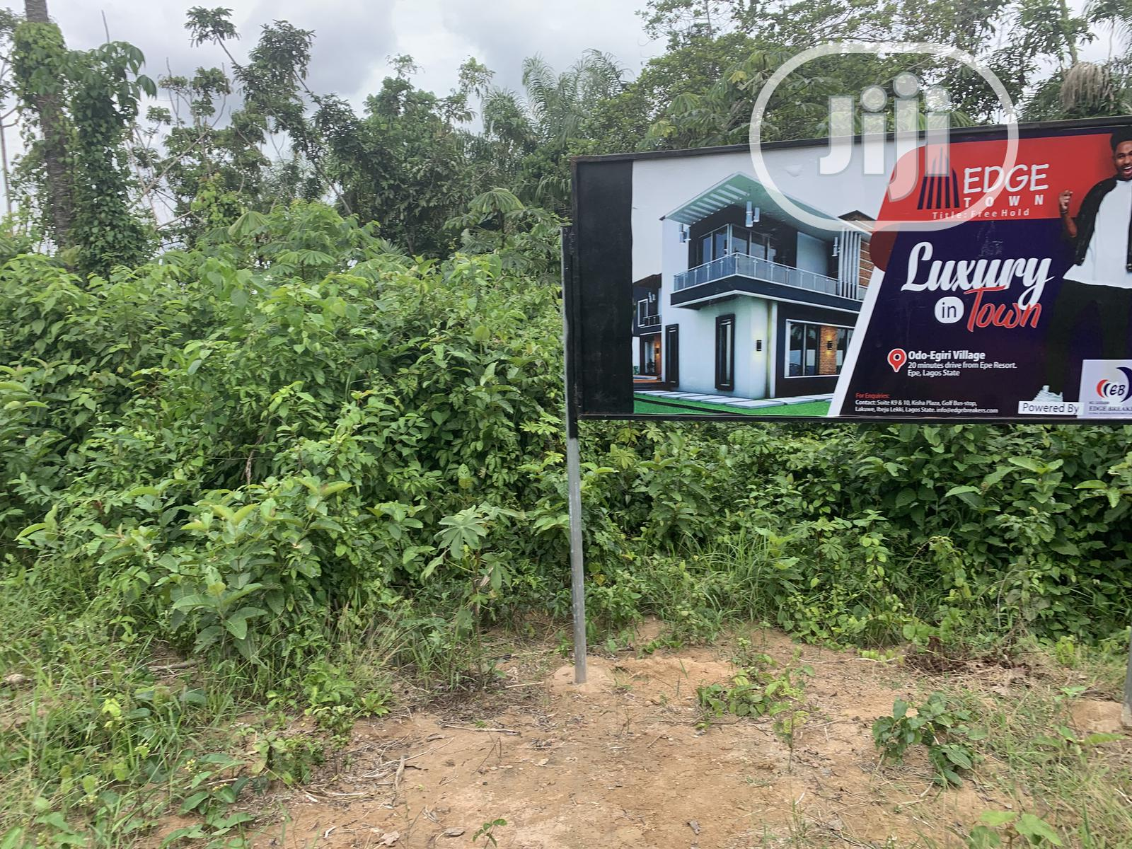 Edge Town Estate Epe With Free Hold Title | Land & Plots For Sale for sale in Epe, Lagos State, Nigeria