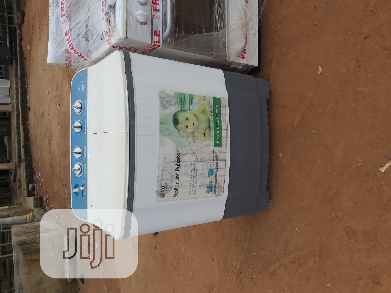 LG 7kg Semi Automatic Washing Machine | Home Appliances for sale in Ikorodu, Lagos State, Nigeria