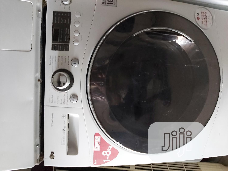 LG 8k INVERTER Automatic Washing Machine | Home Appliances for sale in Ikorodu, Lagos State, Nigeria