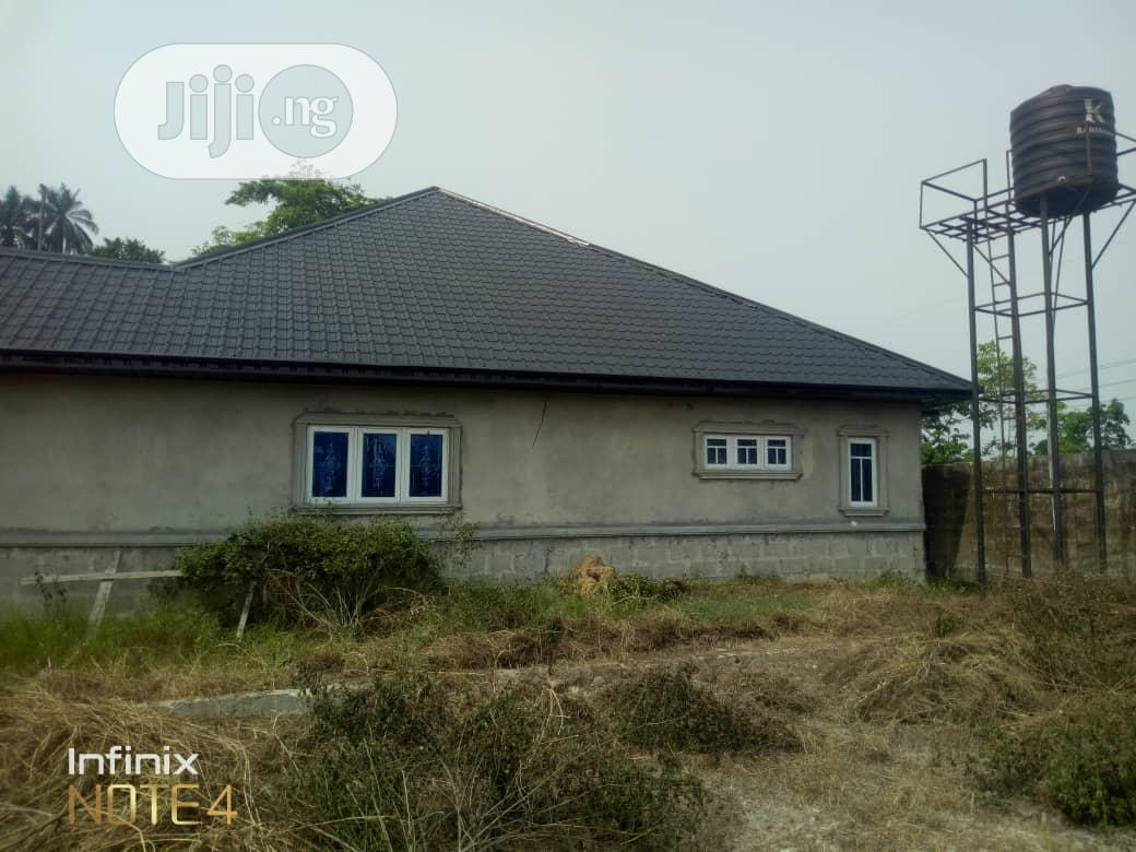 3 Bedroom Bungalow For Sale At Opete, Warri