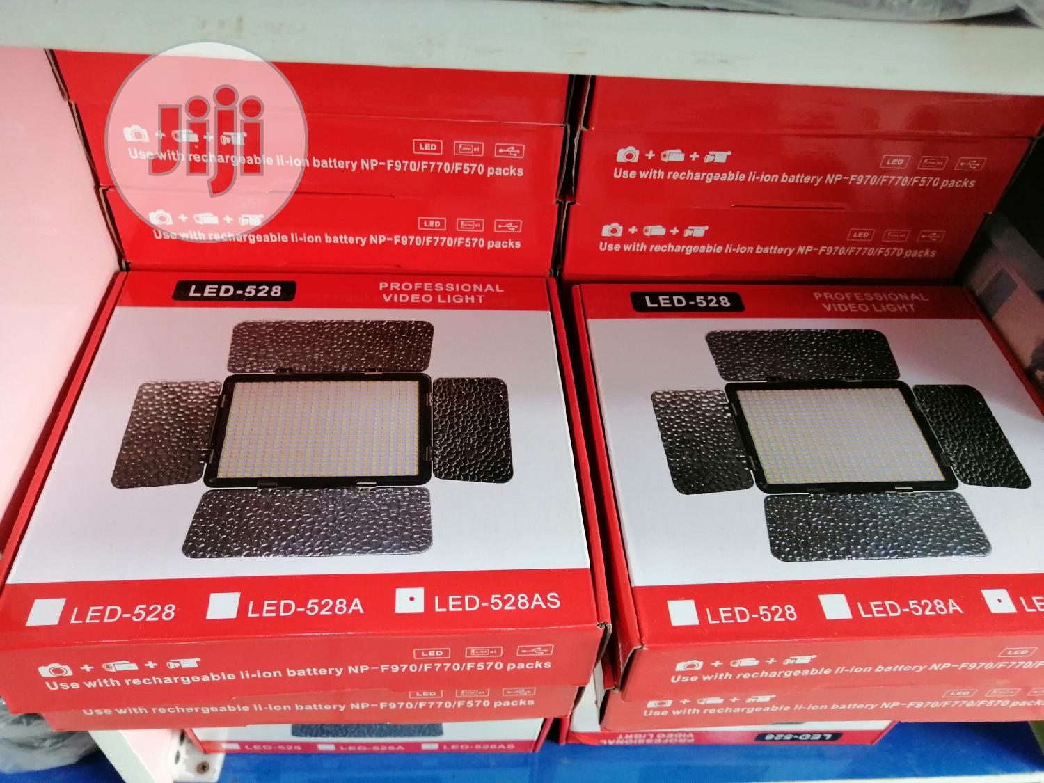 Video Light Led-528 Professional | Accessories & Supplies for Electronics for sale in Ikeja, Lagos State, Nigeria