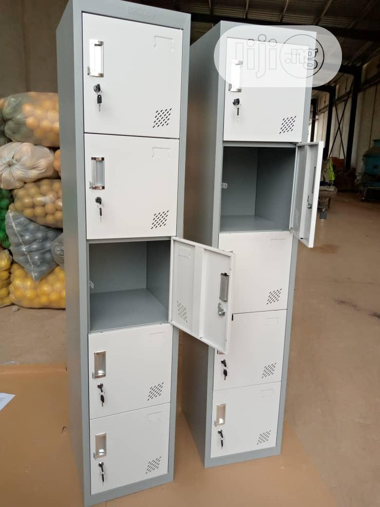 Metal Single Workers Lockers By 5 Lockers | Furniture for sale in Ojo, Lagos State, Nigeria