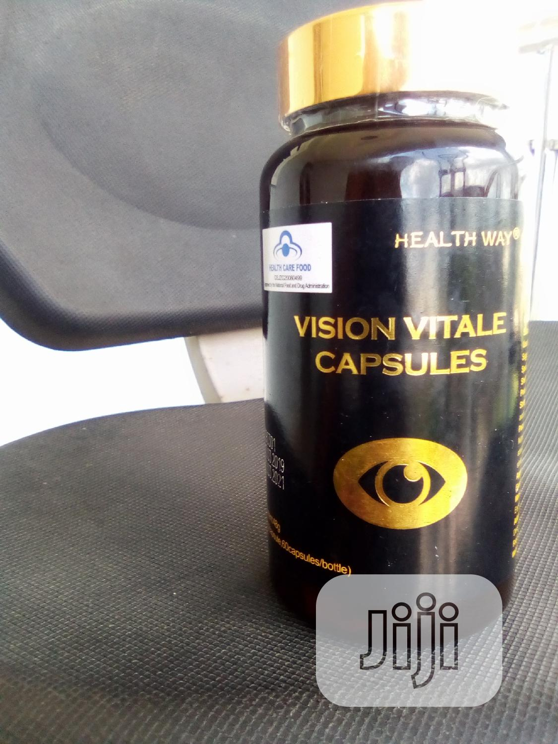 Vision Vitale Capsules- Effective Cure for Cataracts and Myopia