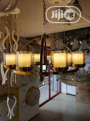 Gold Chandelier With Bulb | Home Accessories for sale in Lagos State, Ojo