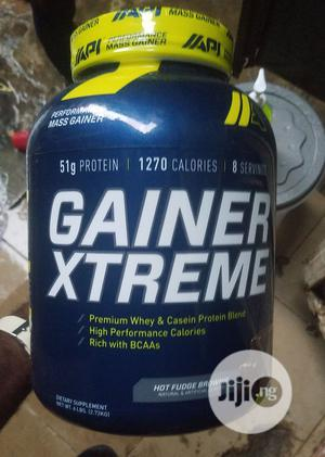 Api Gainer Xtreme Whey and Casein Protein Blend   Vitamins & Supplements for sale in Lagos State, Ojo