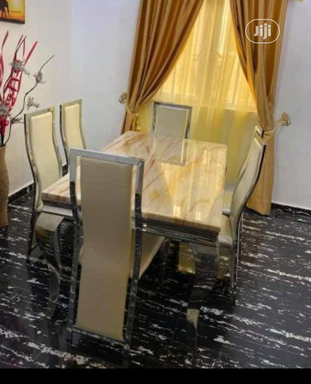 Archive: High Quality Marble Dining Table With Chairs