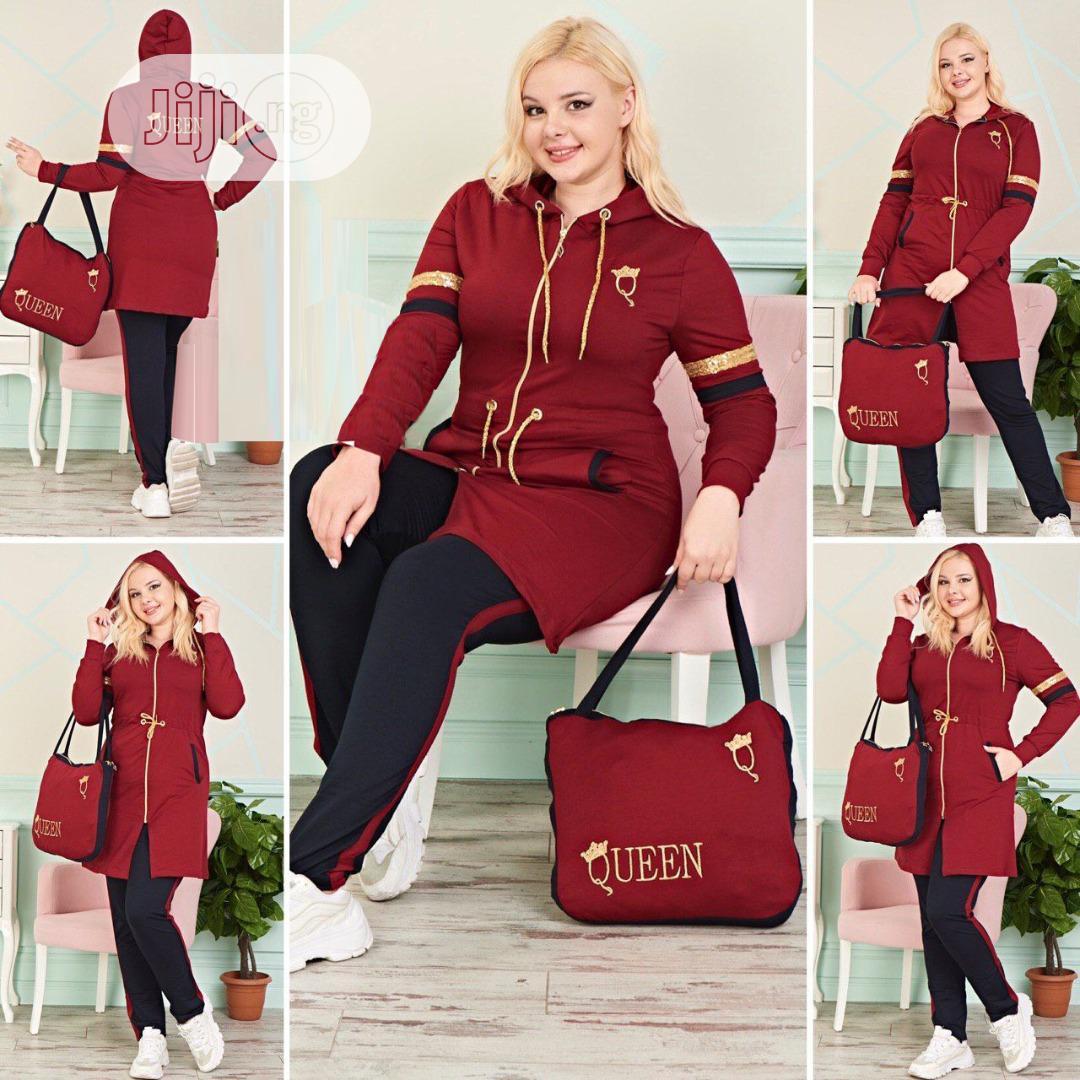 Queen Dress Track Suit
