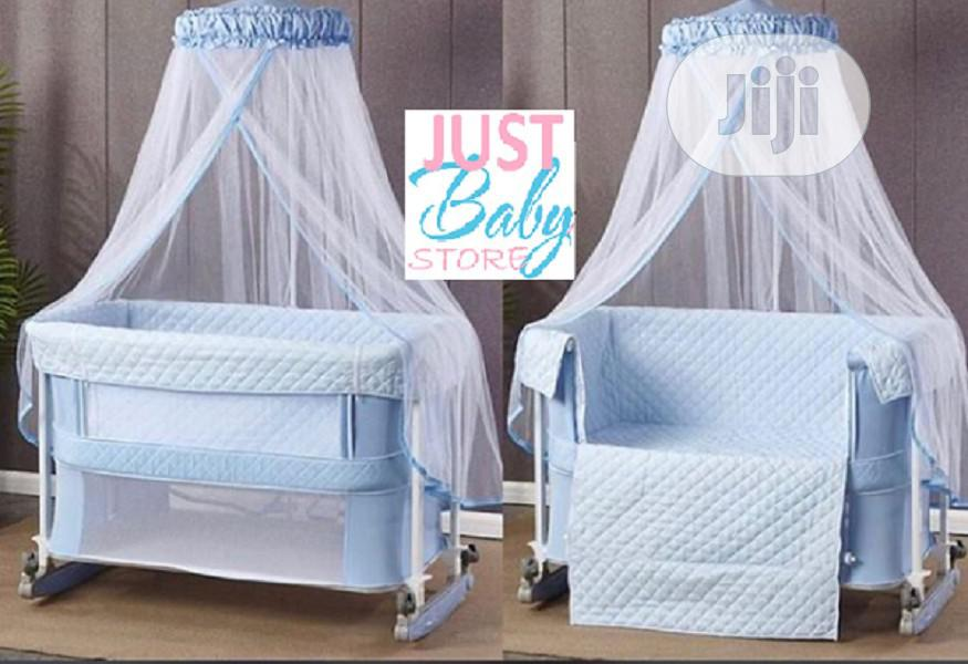 Drop Side Next To Me Cot With Standing Net