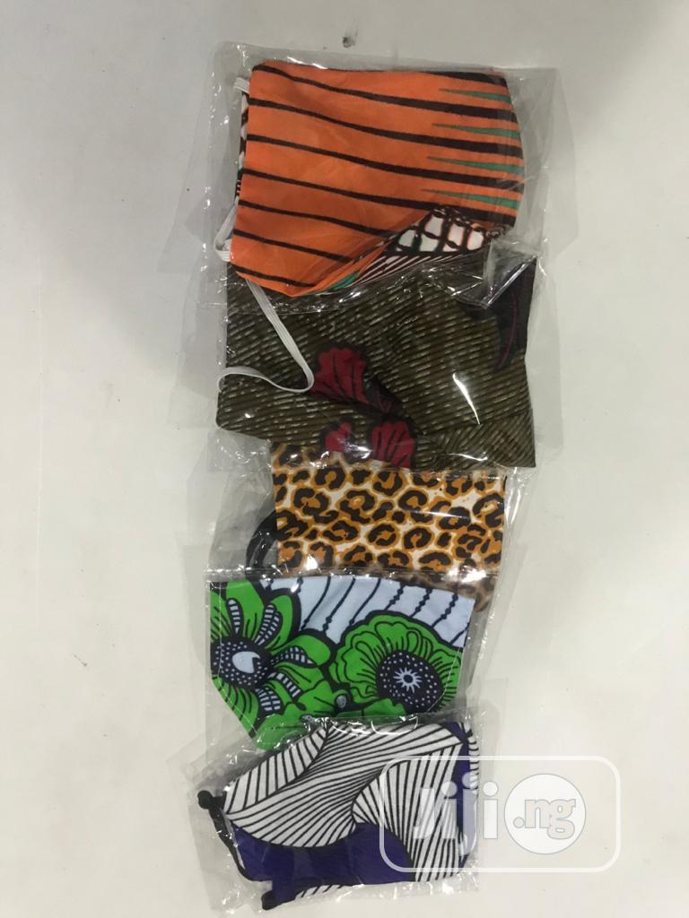 Archive: 5 in 1 Ankara Facemask With Elastic Eargrip