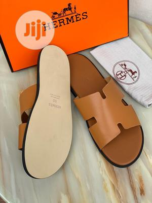 Big Feet Hermes Palm Slipper for Men Size,52   Shoes for sale in Lagos State, Magodo
