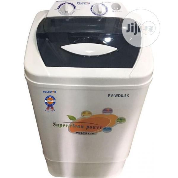 Polystar 6.5kg Top Loader Manual Washing Machine