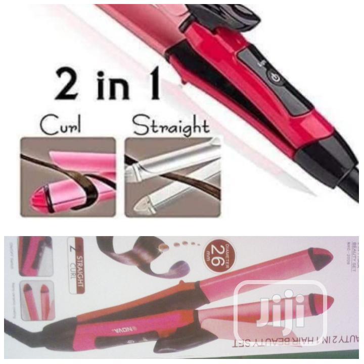 2 in 1 Hair Straightner   Tools & Accessories for sale in Alimosho, Lagos State, Nigeria