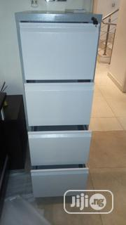 Brand New Imported 4drawers Metal Filing Cabinet With Key's Lock | Furniture for sale in Lagos State, Yaba
