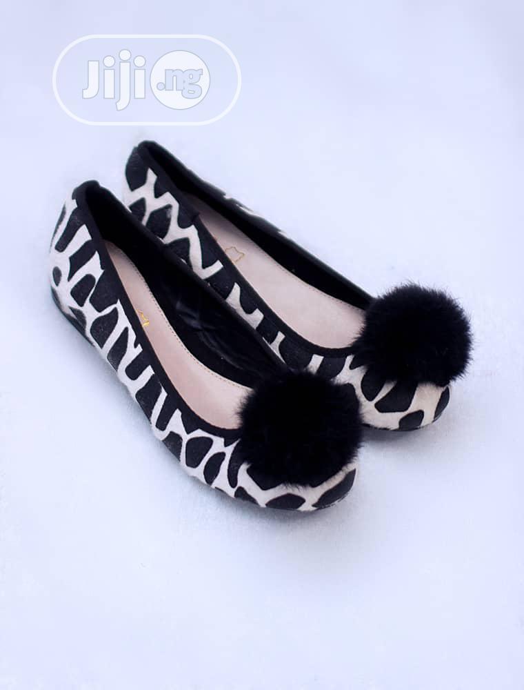 Zebra Print Flat Shoes for Ladies