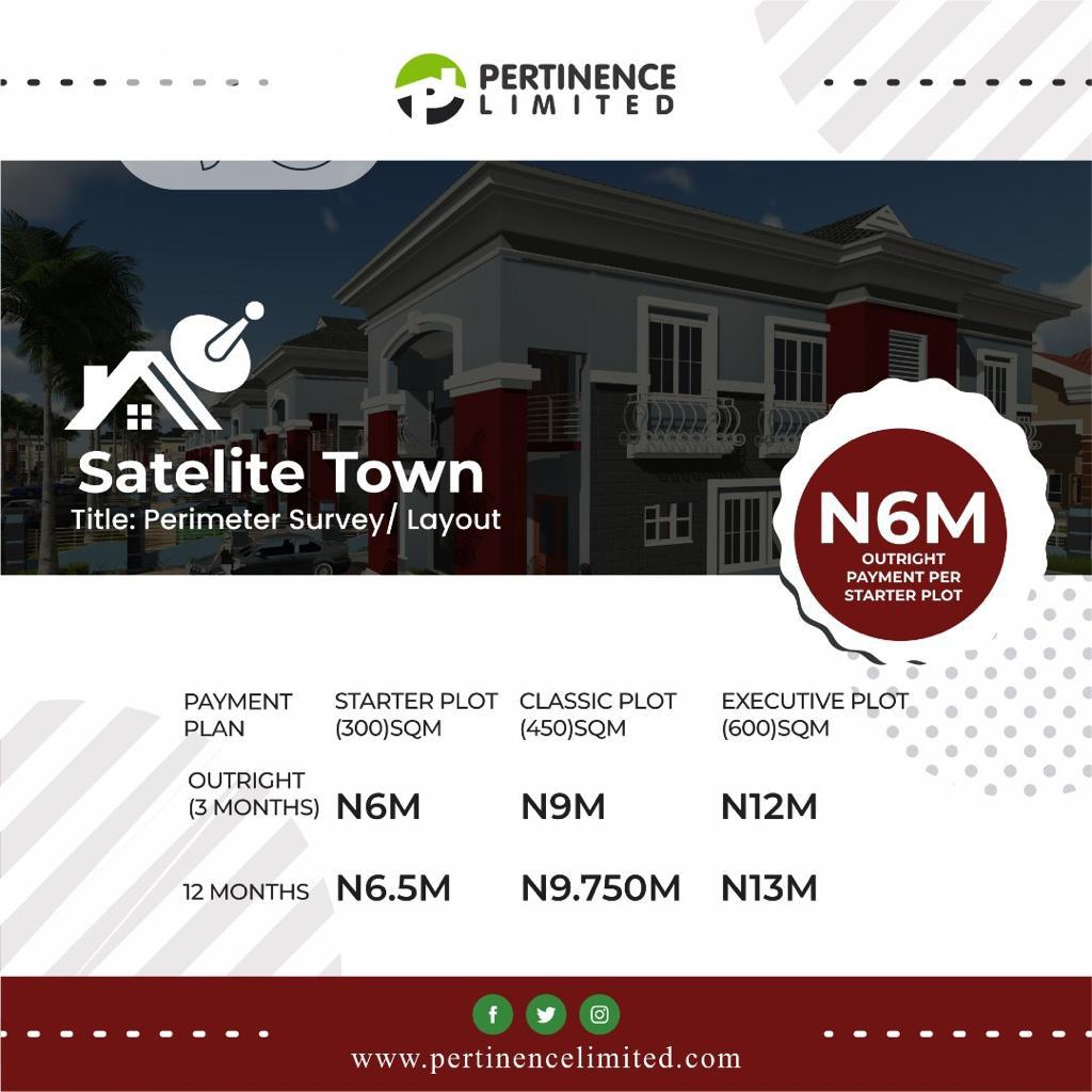 Plots Of Land For Sale At Satellite Town Lagos