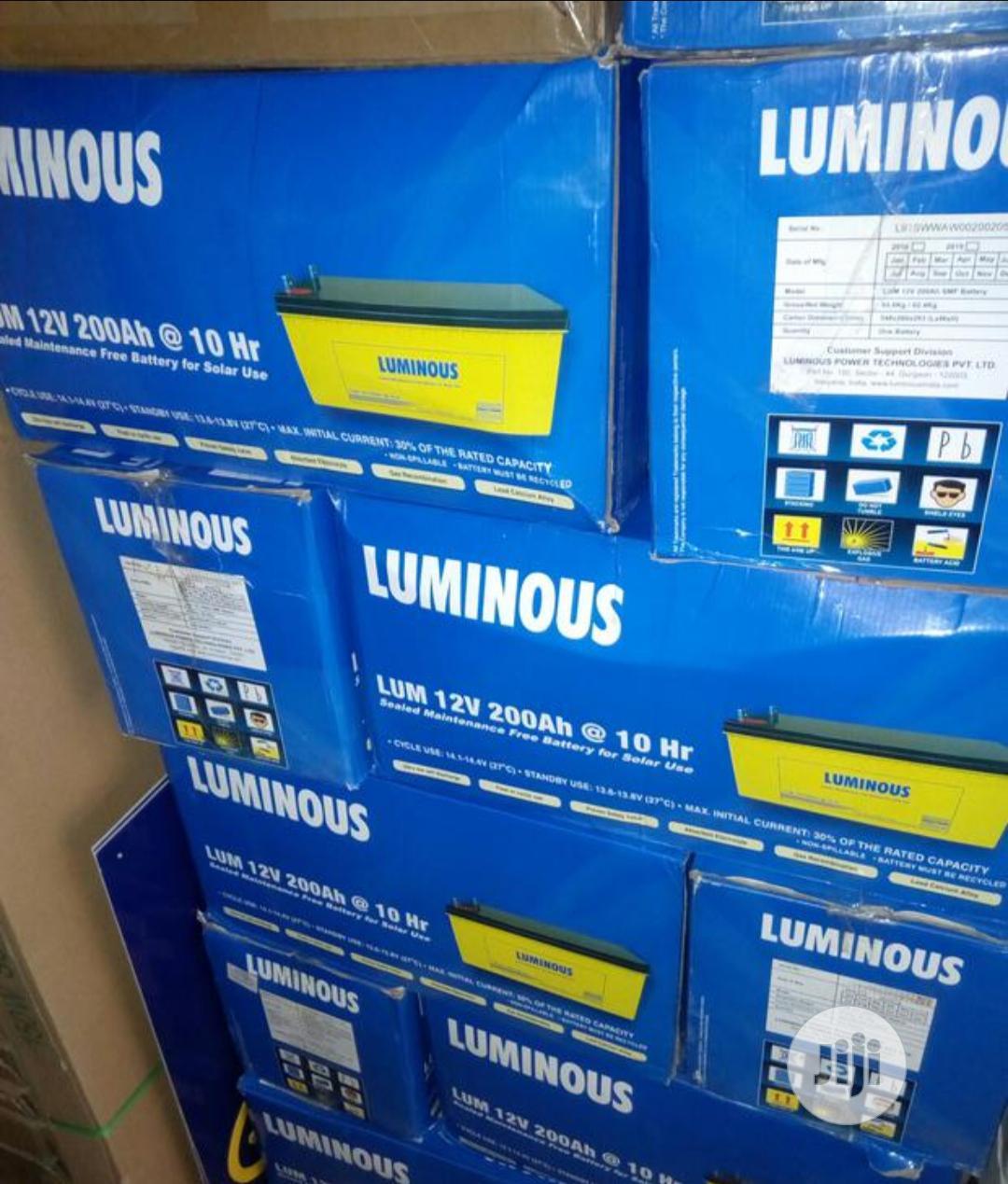 Luminous 200ah 12v Battery