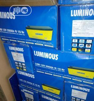 Luminous 200ah 12v Battery   Solar Energy for sale in Lagos State, Ojo
