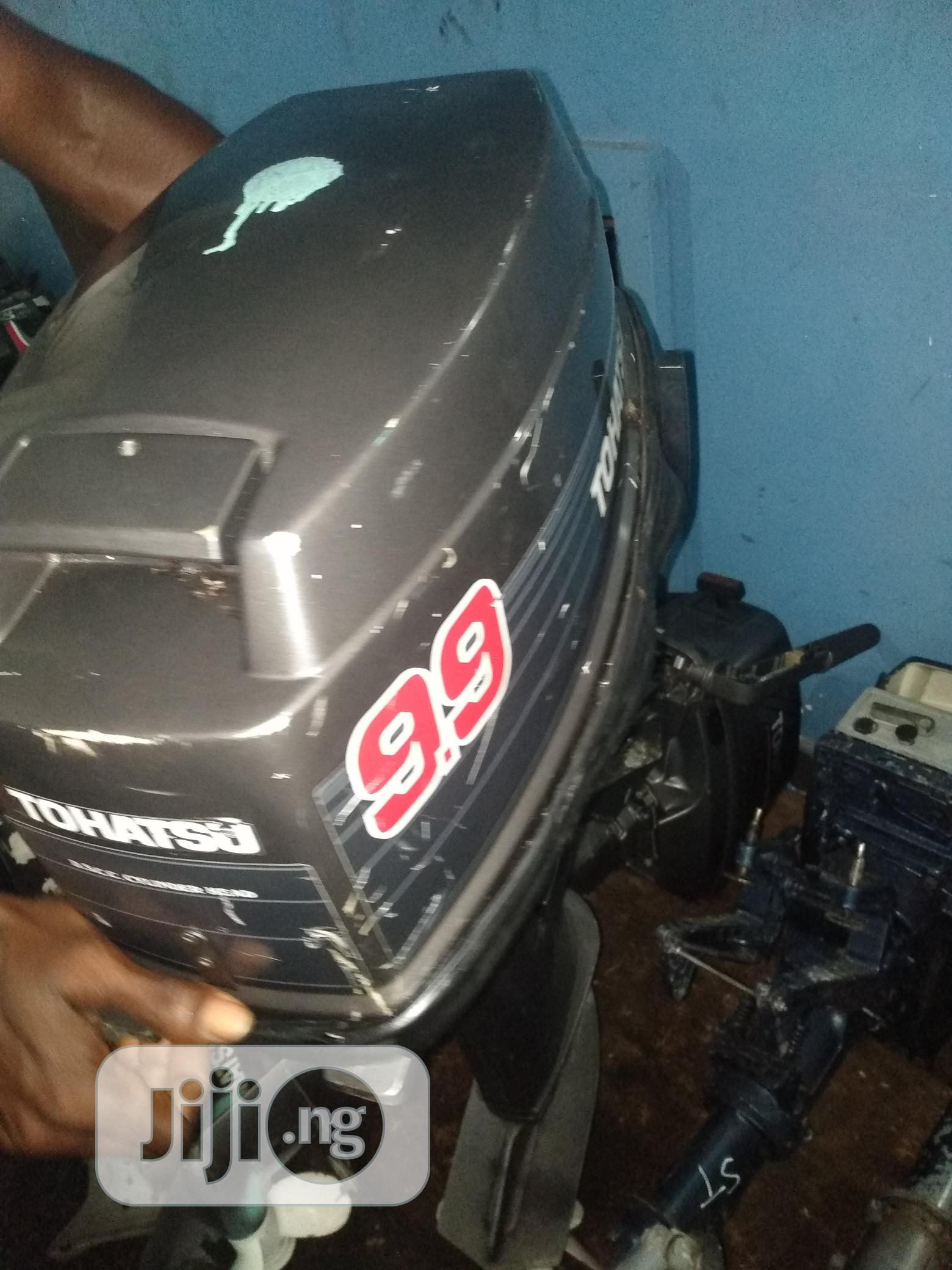 9.9 Horsepower Tohatsu This Is A Very Very Workung Perfect Engine | Watercraft & Boats for sale in Mushin, Lagos State, Nigeria