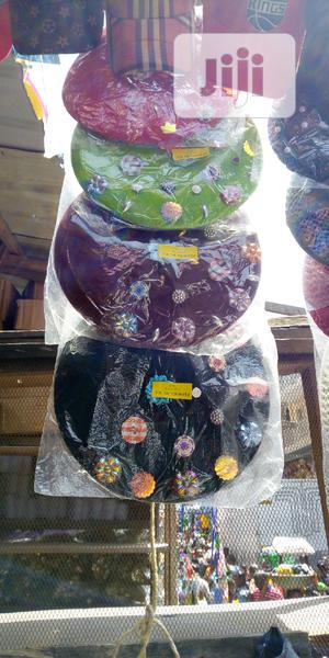 Quality Beret Designed Button On The Head   Clothing Accessories for sale in Lagos State, Lagos Island (Eko)