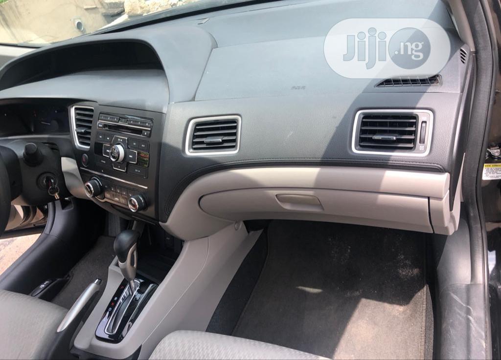 Honda Civic 2015 Black | Cars for sale in Ojodu, Lagos State, Nigeria