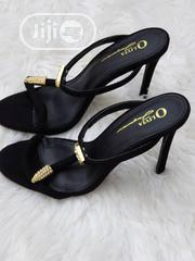 Ladies Black Slipper Sandals | Shoes for sale in Lagos State, Lekki Phase 1