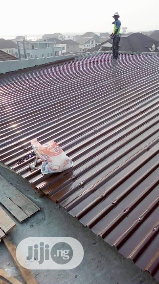 Original Aluminum Roof
