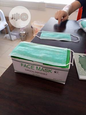 Surgical Facemask One Carton Is 40packet 210,000 | Medical Supplies & Equipment for sale in Lagos State, Lagos Island (Eko)