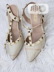 Ladies Cream Studded Court Shoes | Shoes for sale in Lagos State, Lekki Phase 1