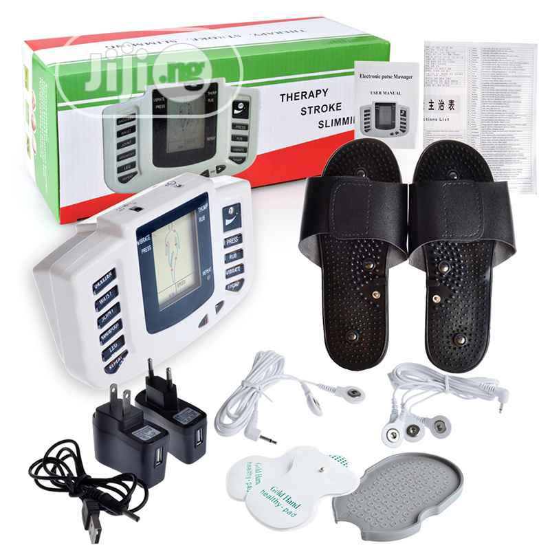 Electronic Pulse Massager/ Theraphy Stroke Slimming