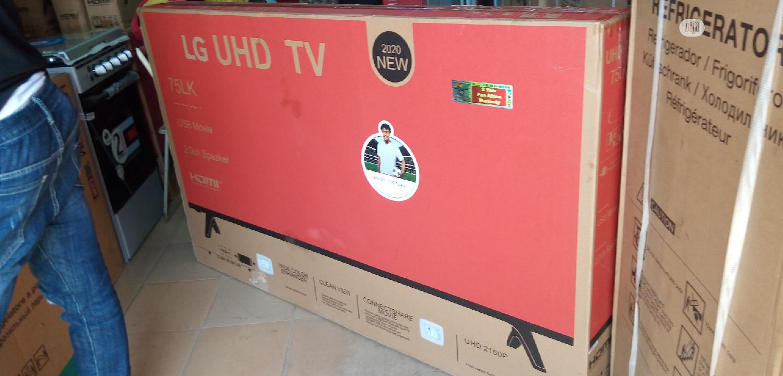 "New LG Smart Internet 4K High Definition (Netflix) 75""Inch Original | TV & DVD Equipment for sale in Ojo, Lagos State, Nigeria"