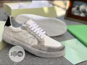 Offwhite Vulcanized Sneakers | Shoes for sale in Lagos State, Lagos Island