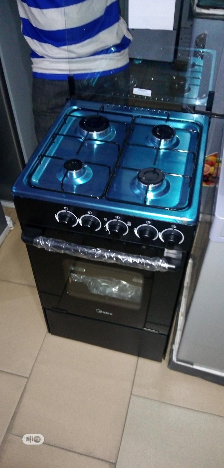 Quality Midea Gas Cooker 4burners Gas Oven 50 By 50cm 1year Warranty