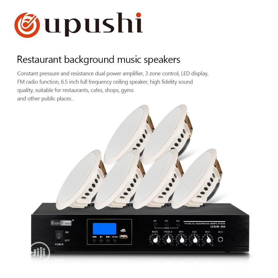 Home Sound Equipment For School, Church, Mosque, Mall,